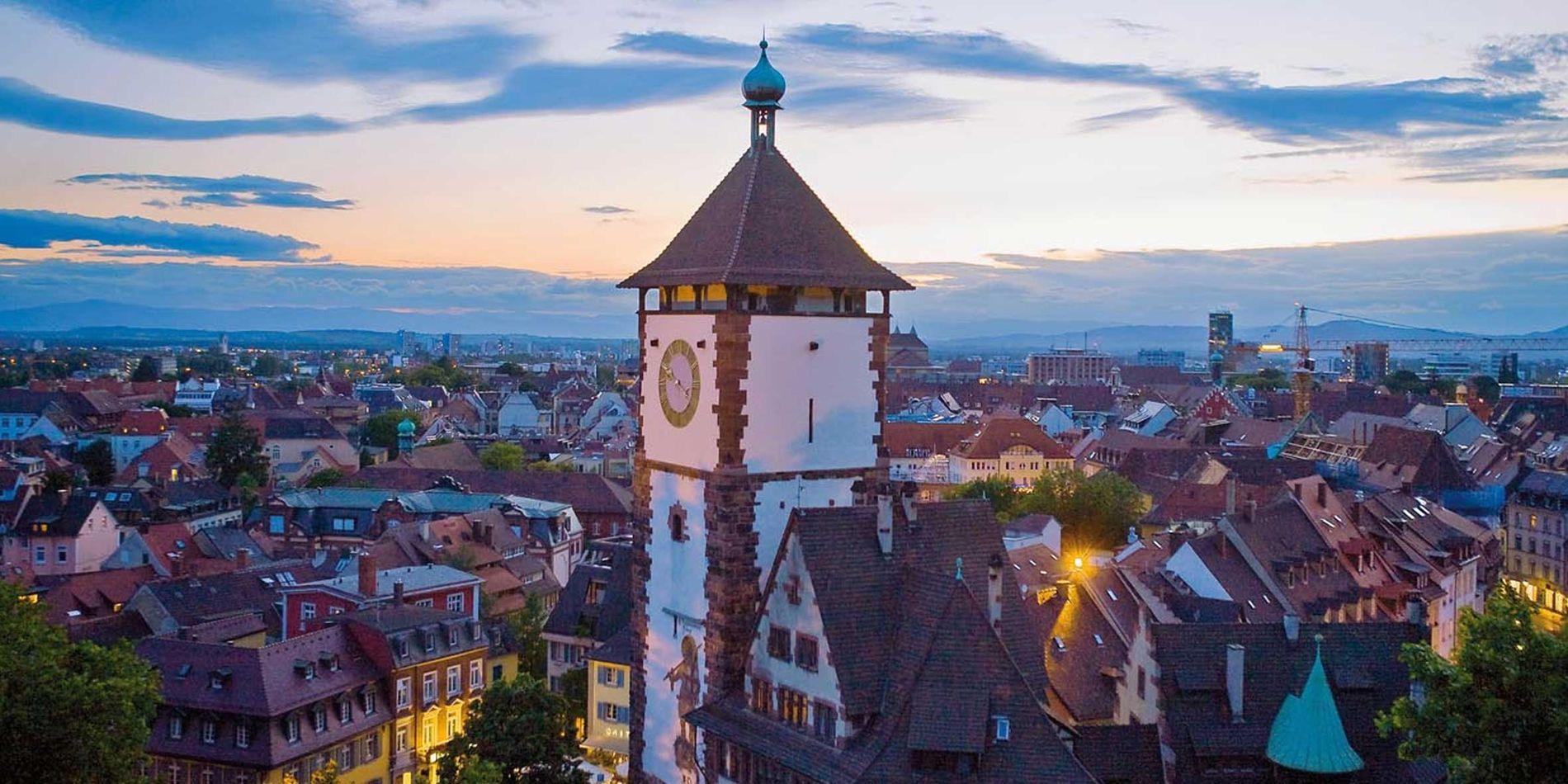Hotel Stadt Freiburg Parken